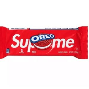 Supreme Oreo collectible 3 pack decoration